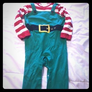 Gymboree Christmas Elf Outfit NWOT